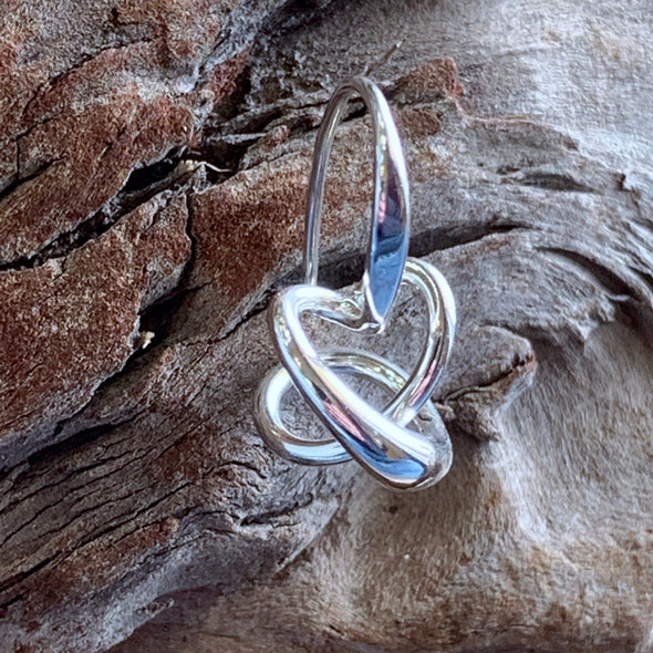 E. L. Designs Secret Heart Earrings | Ed Levin Designer Jewelry - BEACH TREASURES ONLINE