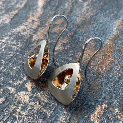 E. L. Designs Shadow Box Earrings | Ed Levin Designer Jewelry - BEACH TREASURES ONLINE