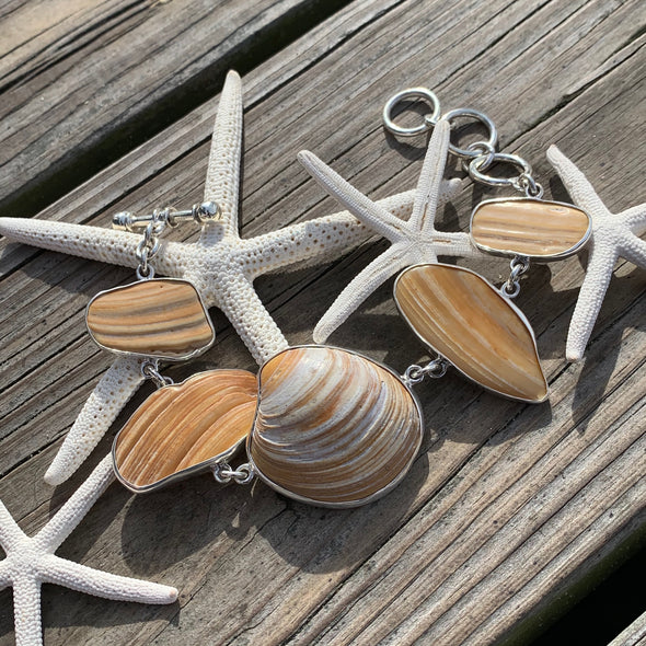 Beach Treasures Clamshell Bracelet | BT☆Sterling® - BEACH TREASURES ONLINE