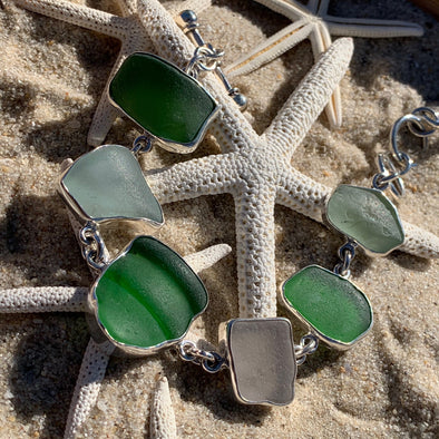 Beach Treasures Seaglass Bracelet | BT☆Sterling®