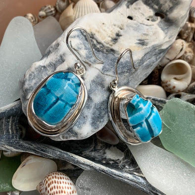 Chris Bales Pottery Earrings
