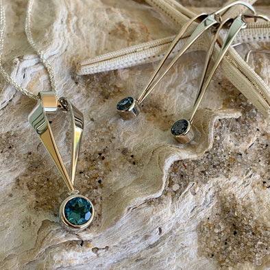 E.L. Designs Blue Topaz Paris Collection | Ed Levin Designer Jewelry