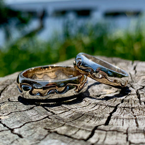 E. L. Designs Water's Edge Ring | Ed Levin Designer Jewelry - BEACH TREASURES ONLINE