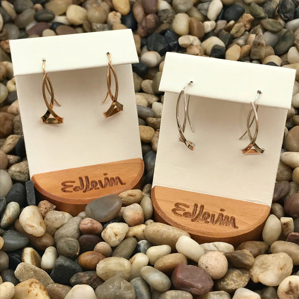 E.L. Designs Hourglass Earrings | Ed Levin Designer Jewelry - BEACH TREASURES ONLINE