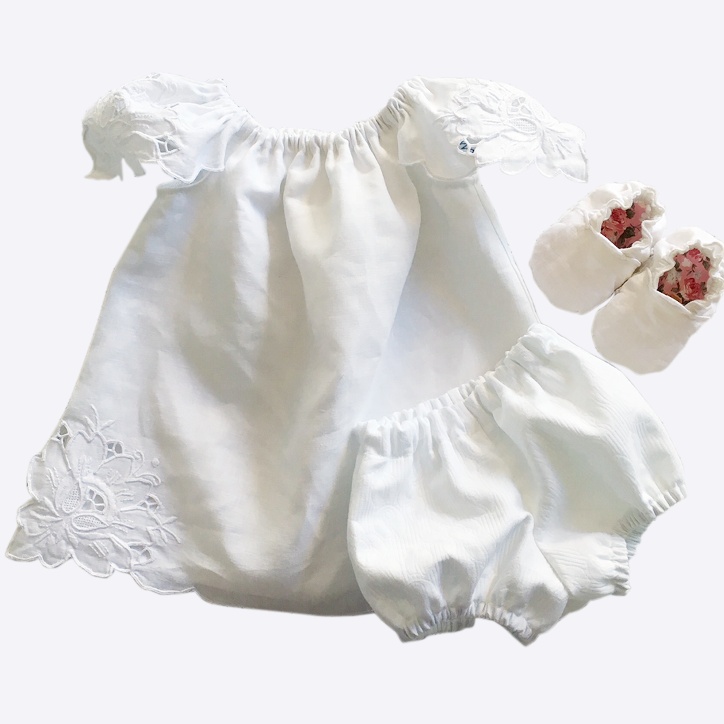 Vintage Dress, Bloomers and Soft Shoes