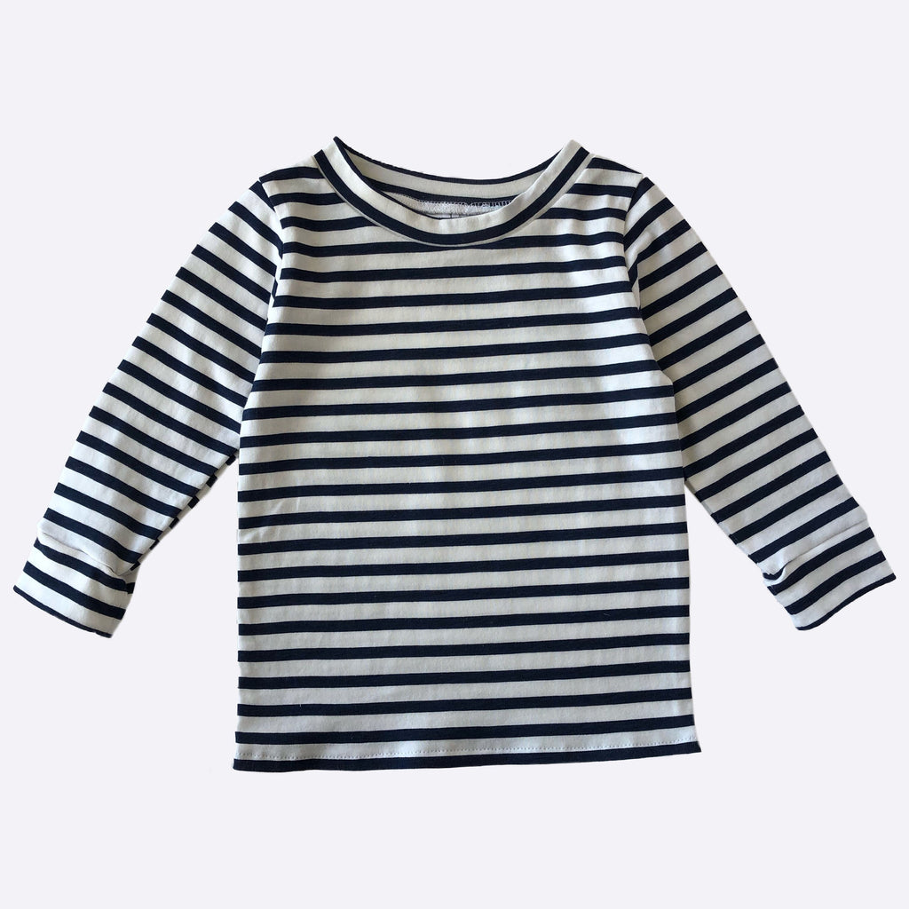 Sam Long-sleeve Top - Navy Stripe