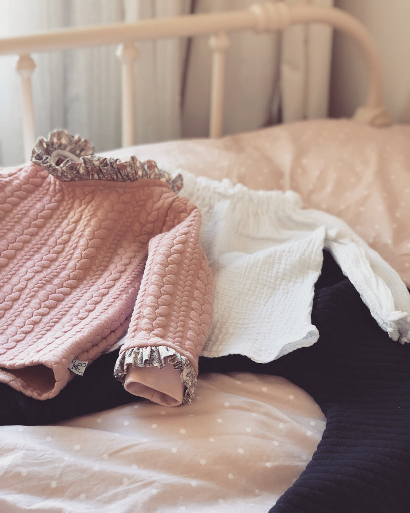 Lucy Jumper - Dusty Pink