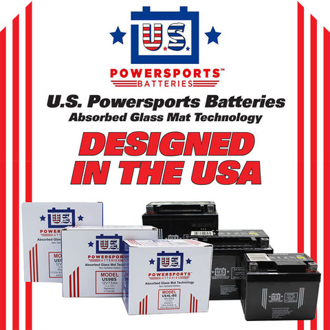 USPS AGM BATTERY US12-BS *4