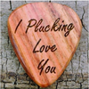 PERSONALIZE REAL WOOD GUITAR PICK