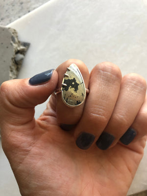 Apache Gold Ring by Rockhaus Metals
