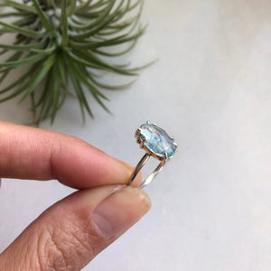 Aquamarine Ring by Rockhaus Metals