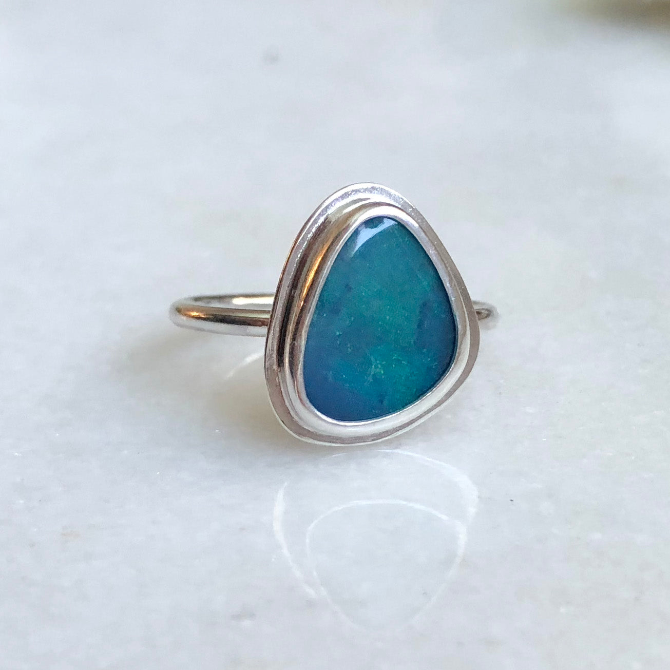 Australian Opal Ring by Rockhaus Metals