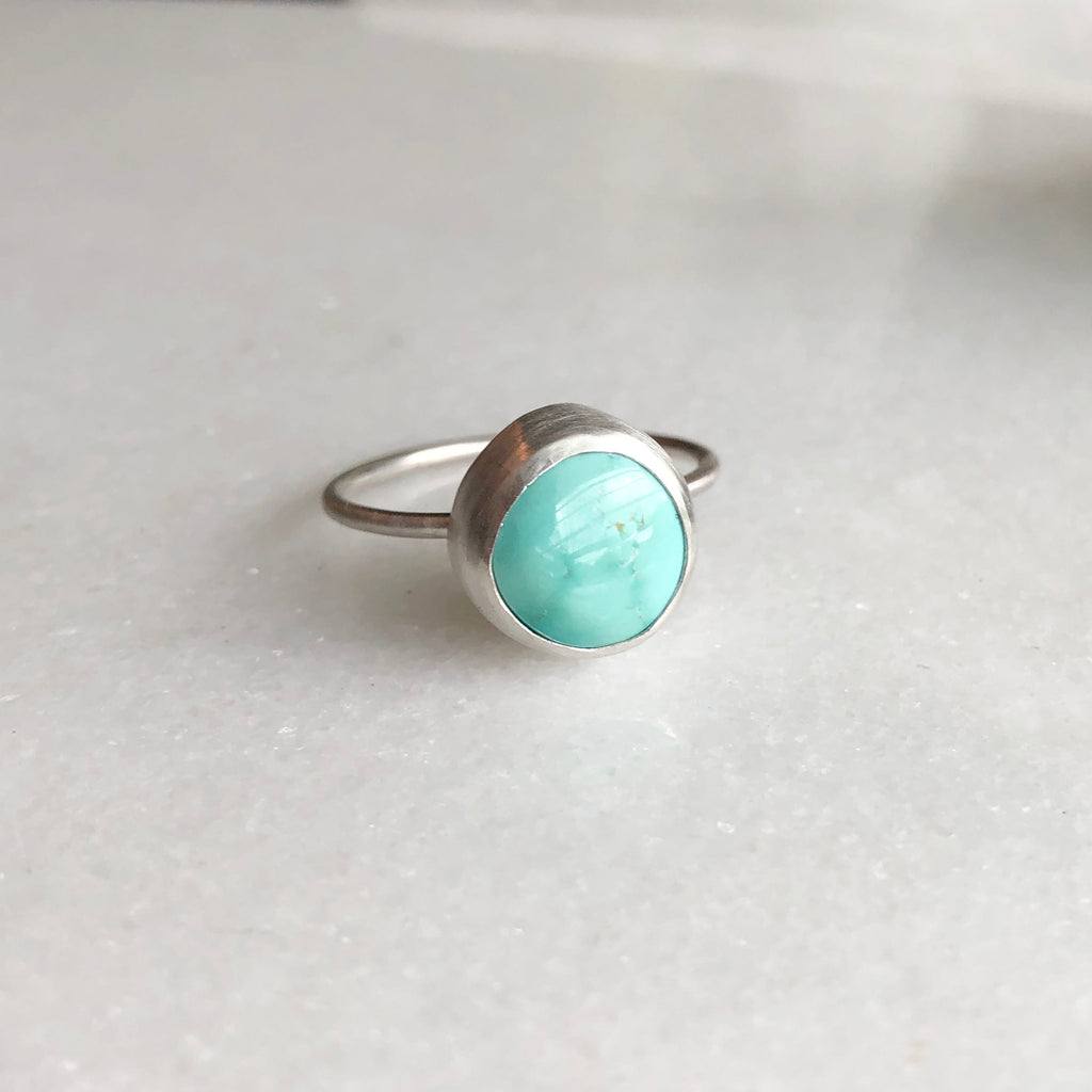 Turquoise Ring by Rockhaus Metals
