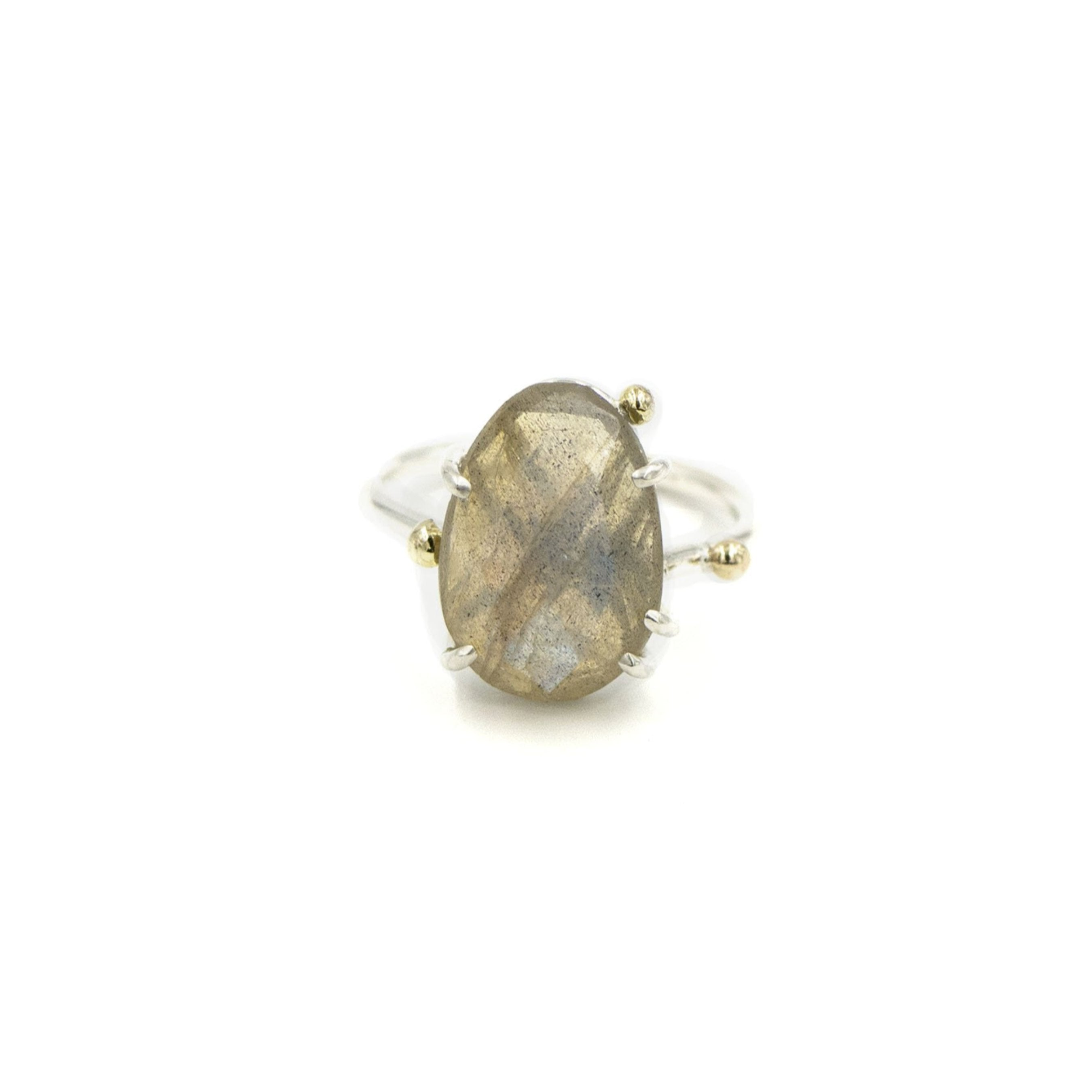 Ethereal Labradorite Ring by Rockhaus Metals