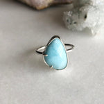 Larimar Ring by Rockhaus Metals