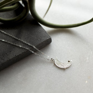 Moon Crater Necklace by Rockhaus Metals