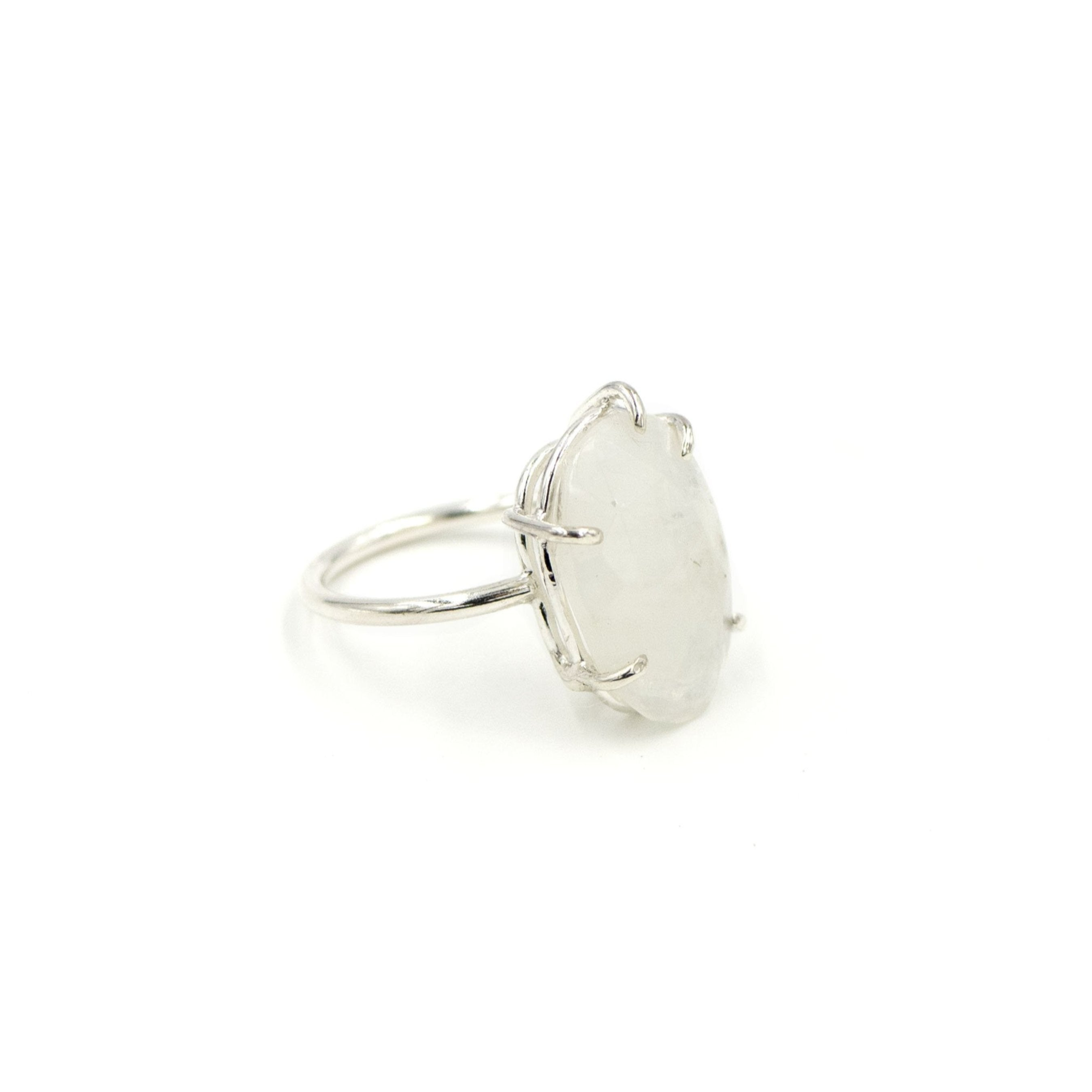 Ethereal Moonstone Ring by Rockhaus Metals
