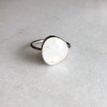 Moonstone Ring // size 10