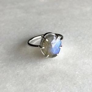 Labradorite Ring by Rockhaus Metals