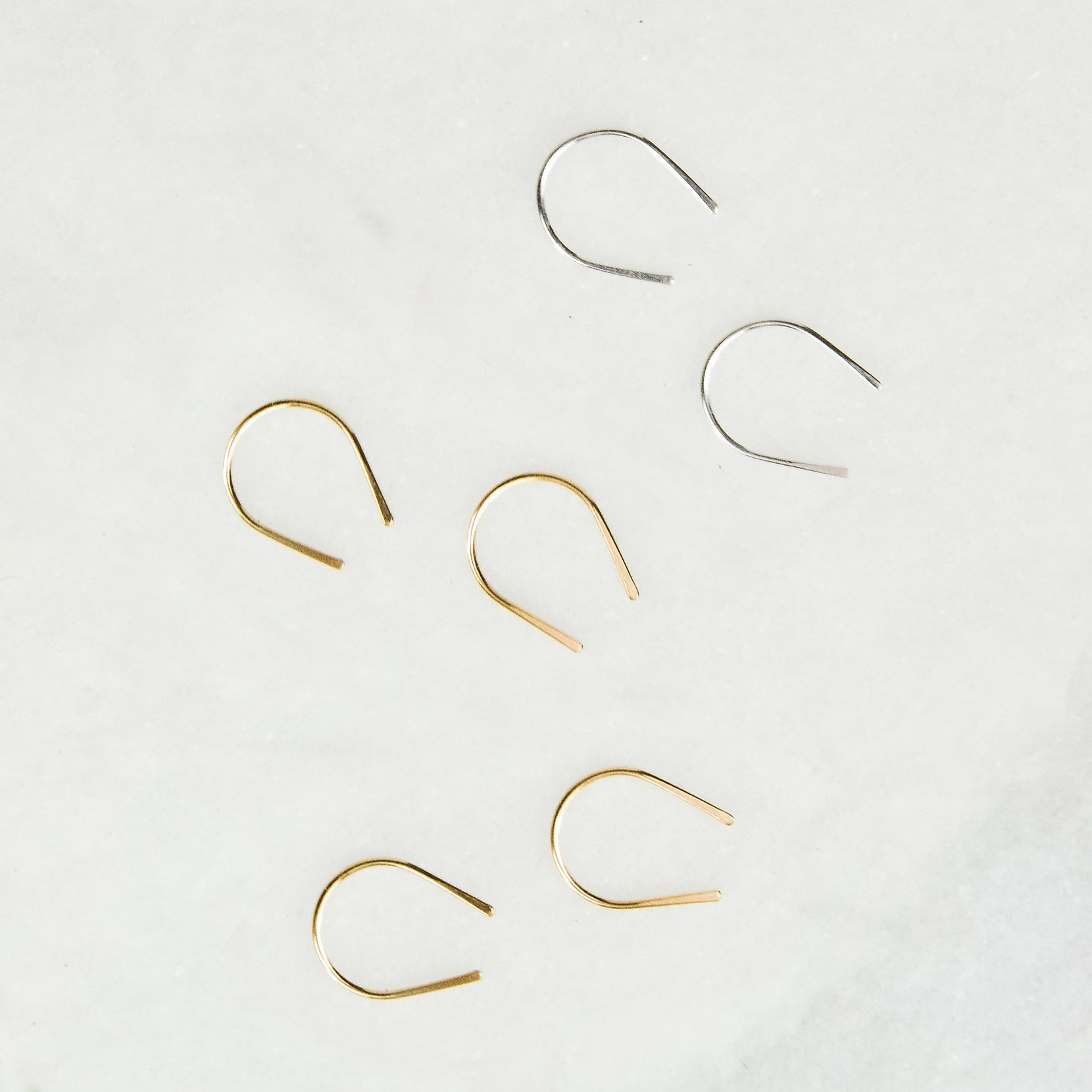 Mini Arc Earrings by Rockhaus Metals