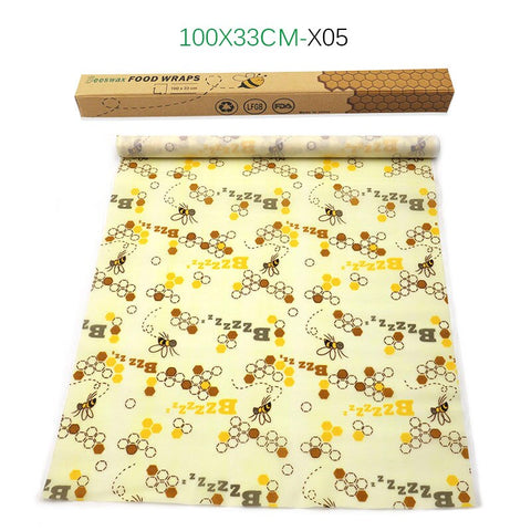 Reusable Beeswax Wrap 1 Metre Roll - ecoimpakt.com