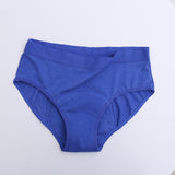Bamboo Fiber Period Panties 1 to 10 - Blue - ecoimpakt.com