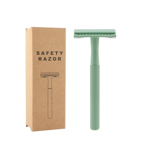 Green Mint Safety Razor - Ecoimpakt