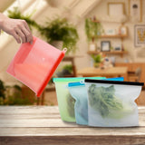 Reusable Resealable Food Storage Bag - Ecoimpakt