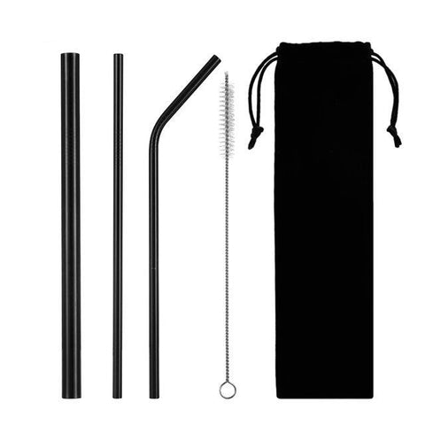 Stainless steel straws kit - ecoimpakt.com