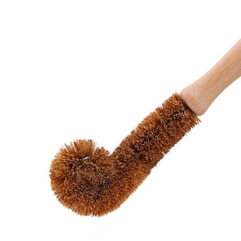 Natural Eco-friendly Glass & Bottle Dish Brush