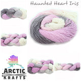 Haunted heart iris yak/silk