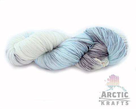 Glacial mist Worsted