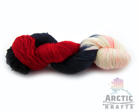 Queen of hearts worsted