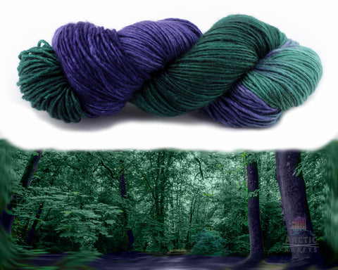 Enchanted forest worsted