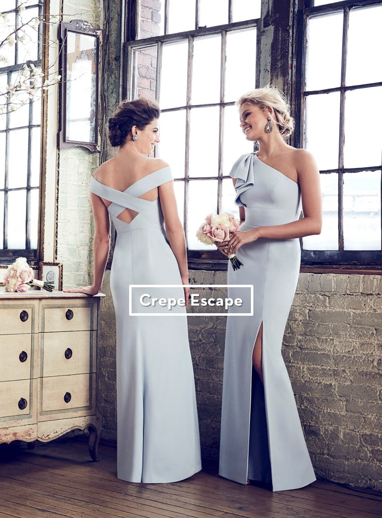 5375a4582ce5 Crepe for Breakfast and Bridesmaid Dresses | Bella Bridesmaids