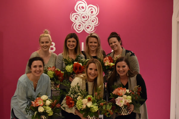 The team at Bella Bridesmaids in Charlotte, NC
