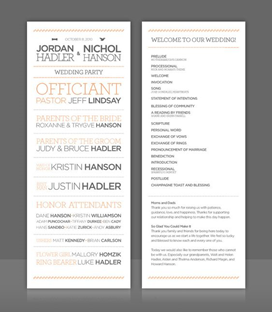 Wedding Program Thank You Wording [What Should You Write