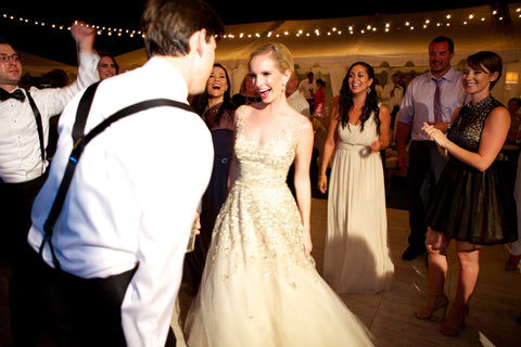 Backyard wedding dance floor rentals