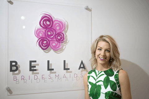 Bella Bridesmaids store owner Stephanie Campbell