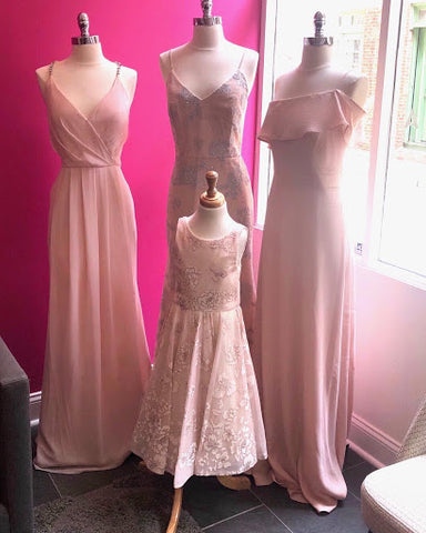 Bridesmaid's dress tailored