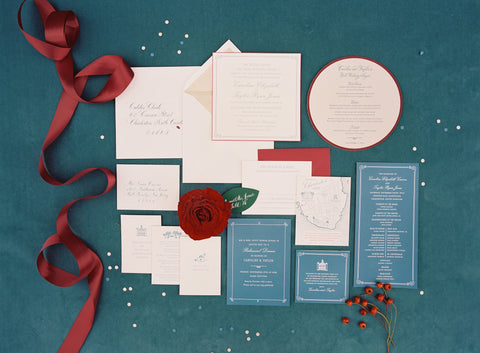 Follow your wedding program at your wedding rehearsal