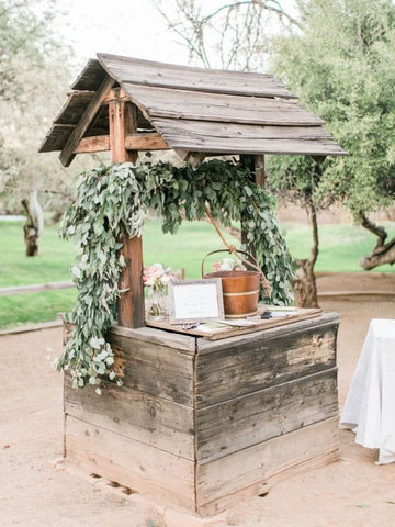 Wedding money wishing well