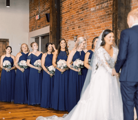 Navy Blue and Silver Weddings [2020