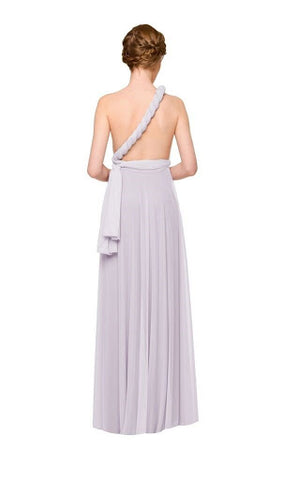 One Shoulder Twist Maxi Dress
