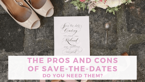 Pros and cons of save the dates