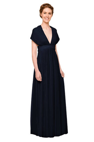 Short Sleeves Maxi Dress with Full Coverage
