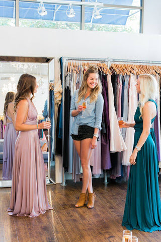 When to have bridesmaid dress alterations done