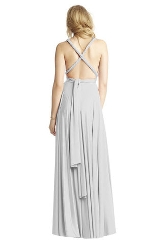 X-Back Twist Maxi Dress