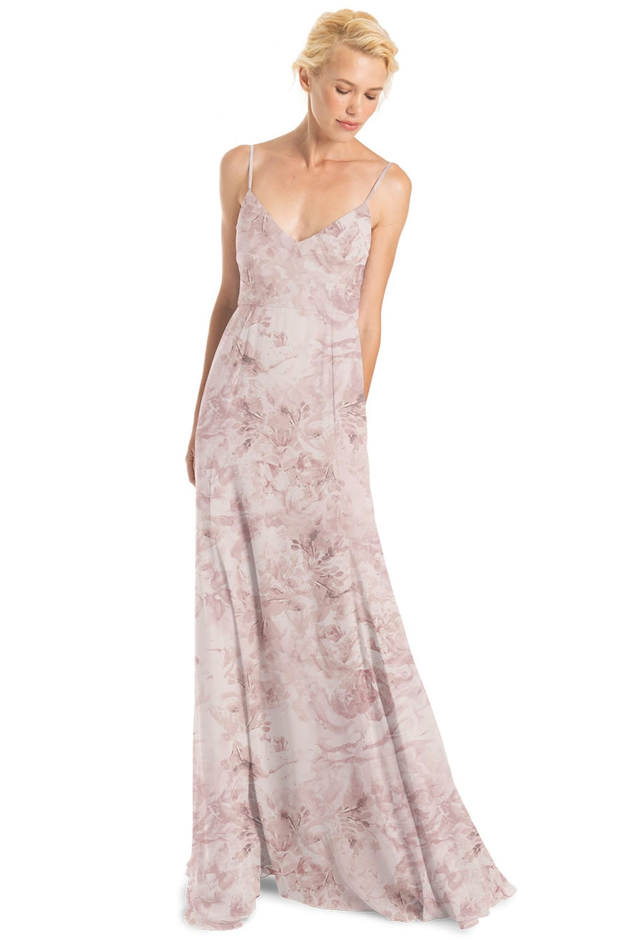 Joanna August Bridesmaid Dress Claudette Print