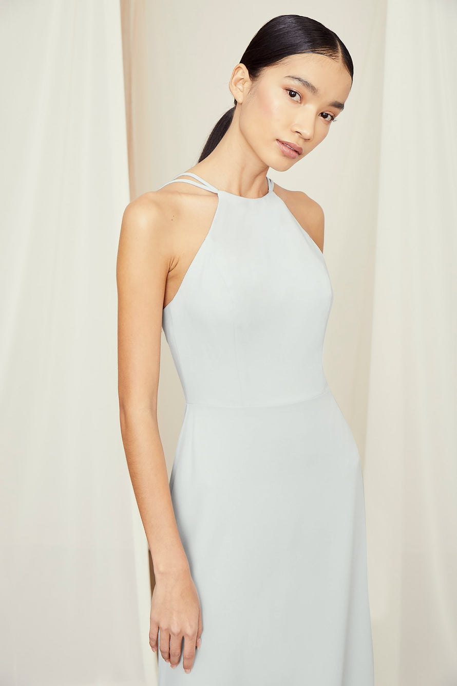 Amsale Long Bridesmaid Dress Emma